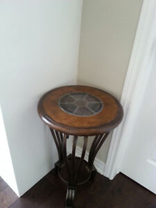 round plant stand/occational table