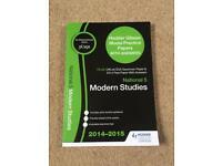 National 5 Modern Studies practice paper book