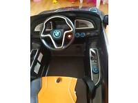 Bmw i8 concept kids ride on car