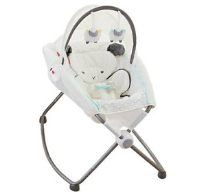 Fisher Price My Little Lamb Deluxe Rock n Play Soothing Seat