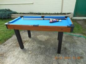 Childrens Pool Table 750 x 1500 ml approx