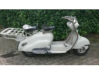 LAMBRETTA LD 150 1955 150cc CLASSIC BIKE SCOOTER IMPORT