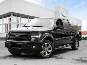 2014 Ford F-150 $312 b/w tax in   Moonroof   Navigation   Leathe