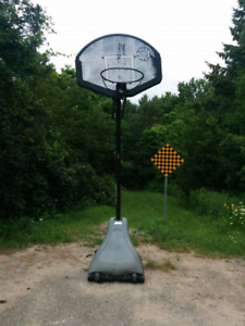 Huffy basketball net has bent hoop asking $40
