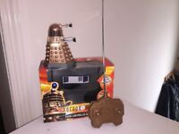 "Doctor Who Radio Controlled 5"" Dalek BOXED"
