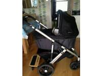 Uppababy vista travel system buggy