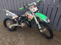 2007 Kawasaki kx 125 excellent condition for year