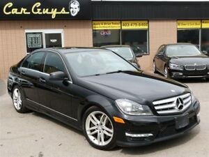 2013 Mercedes-Benz C-Class C 300 4MATIC - Sport Package, Heated