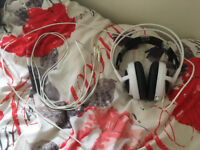 SteelSeries Siberia V3 Gaming Headset, Works perfectly, Needs New Headband CHEAP