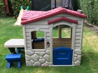 Little Tikes Plastic Playhouse with table and seats