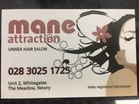Hair stylist wanted. Also Junior required