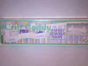 $5 Deal Great Crib Caddy for Change Tables & Cribs MINT!