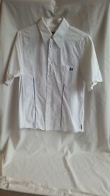 Armani Jeans Shirt Color White Size XXL