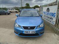 SEAT IBIZA 1.4 16v Toca 5dr (blue) 2013