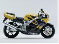 Stunning Honda CBR900RR Fireblade only 3800 miles (6000km)