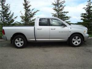 2011 RAM SLT 1500 CREWCAB SHORTBOX 4X4 5.7L 203K ONLY $14,700.