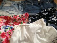 Bundle of size 8 shorts & skorts