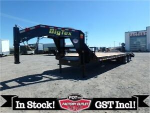 24K - 8.5 X 30 Gooseneck by Big Tex Trailers -*SPARE TIRE INCL*-