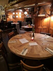 Live in supervisor required for food led pub in SW18 – Accomodation + £Competitive + tips + benefits