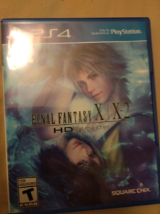 Final Fantasy X/ X2 Ps4
