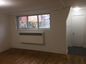 Completely renovated.  Heating, hot water & electricity included