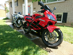 "2002 Honda CBR 600 F4I Lowered 3"" with 46K kms and MINT"