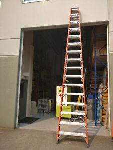 16 foot Heavy Duty step ladder