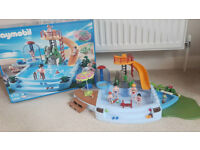 Playmobil Swimming Pool 4858 - boxed - 95% complete