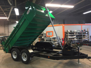 DUMP TRAILER NEW EARLY WINTER SALE COMMANDO SERIES 712