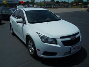2014 CHEVROLET CRUZE 2LT- REAR VIEW CAMERA, LEATHER HEATED SEATS