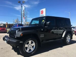 2014 Jeep WRANGLER UNLIMITED Sport ~Off-Road Convertible ~4x4 of