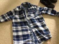 Boys next checked shirt age 10
