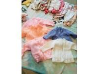 Baby girl clothes vgc 0-3