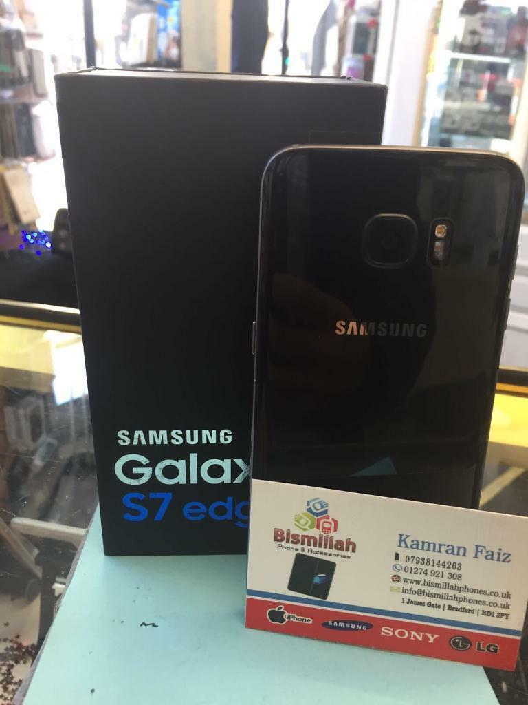 SAMSUNG GALAXY S7 edge UNLOCKED boxed BRAND condition NEW SAMSUNG WARRANTYSHOPin Bradford, West YorkshireGumtree - SAMSUNG GALAXY S7 edge UNLOCKED boxed BRAND condition NEW SAMSUNG WARRANTY & SHOP RECEIPT pick up fromBISMILLAH PHONES BD1 3PYFREE SCREEN PROTECTOR TEMPERED GLASS OR COVER