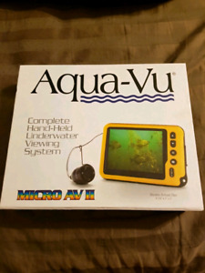 Aqua-Vu underwater camera & fish finder