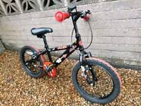 Boy's bike to suit up to 7 years old