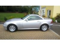 mercedes slk 200 compressor 6 speed manual. 2 former owners f.s.h £2385.