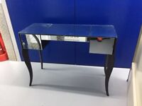 Beautiful mirrored dressing table with matching stool