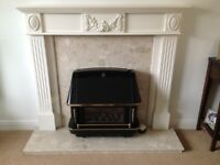 Fire surround and gas fire