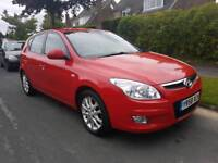 2009 Hyundai i30 1.6 style full service history low miles price reduced bargain