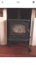Wood and coal burner