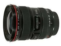 EX display Canon EF Wide-Angle Zoom Lens for Canon EF - 17-40mm - F/4.0