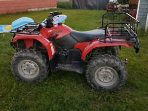 have a great 4x4 four wheeler