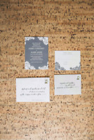 Custom wedding invites