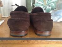 MARKS AND SPENCER SWEDE LOAFERS COLLEZIONE SIZE 8