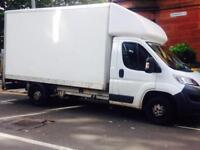 Southside Man & Van service for house removals & deliveries. Luton van with tail lift.
