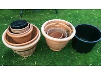Garden tubs/plant pots