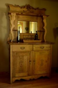 Antique Dining Rm Hutch