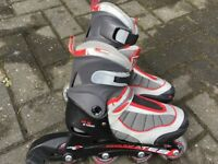 Inline Roller Skates size 12 Junior to 2 Euro 31 to 34