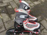 Inline Roller Skates size 12 Junior to 2 Euro 31 to 34